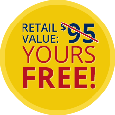 Retail Value: $95 – Yours Free