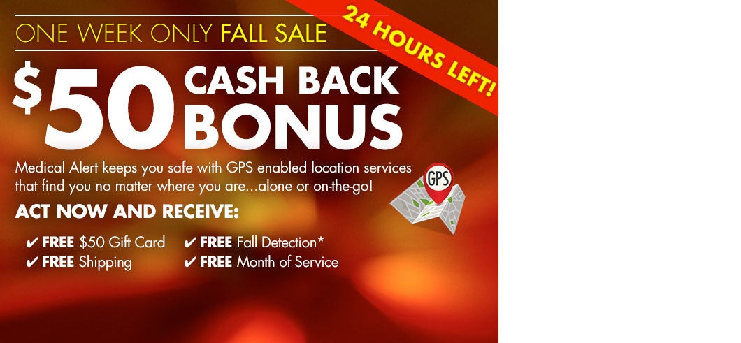 $50 Cash Back Bonus + Free Shipping & Free Lockbox