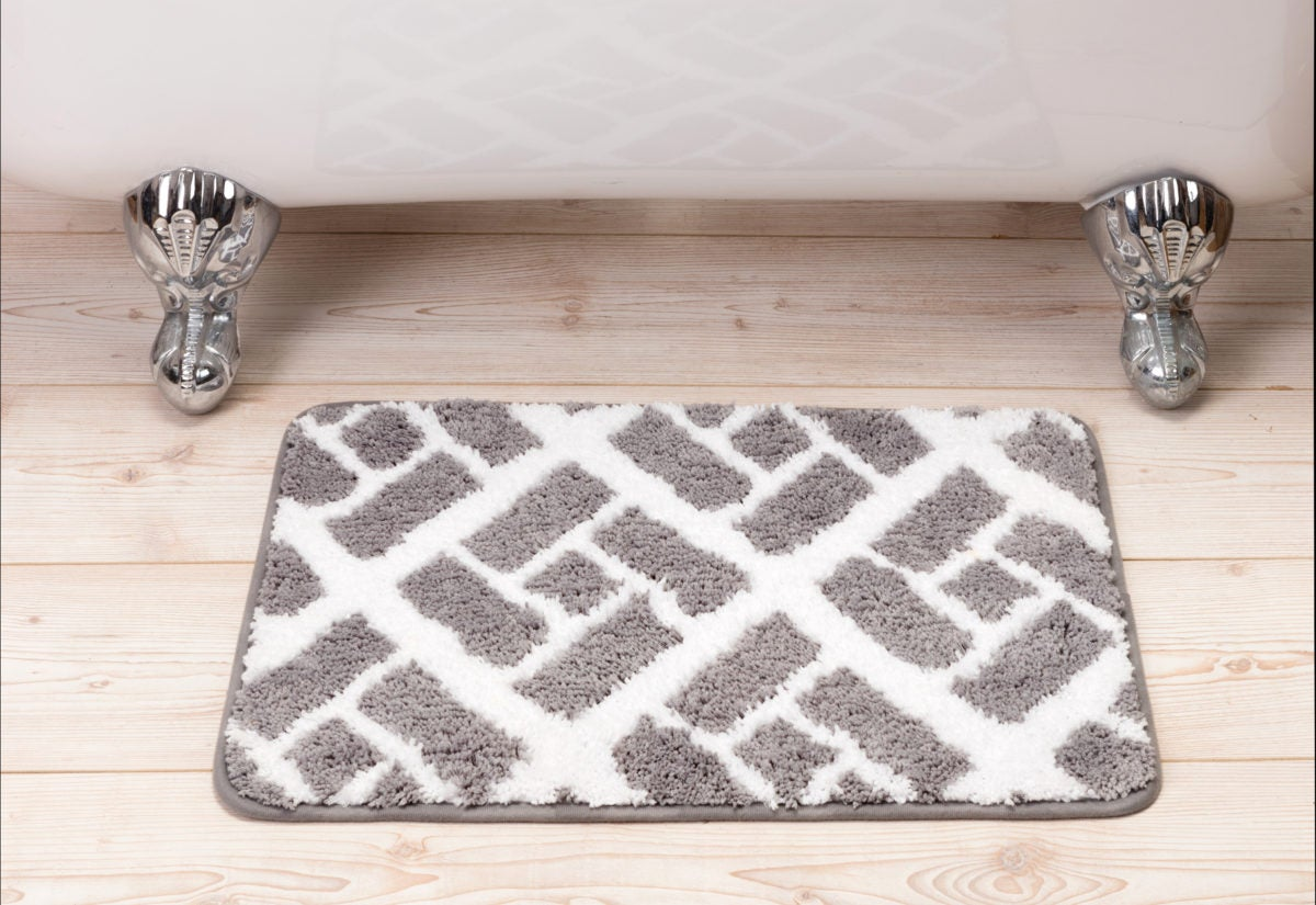 Non-slip bath mats can help to reduce your risk of falls in the bathroom.