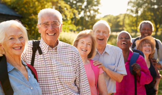 Senior-style outdoor excursions clubs offer lower intensity hikes, kayak trips and other outdoor activities throughout the year.