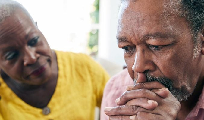 Almost 20 percent of all adults age 55 and over have experienced some type of mental health concern.