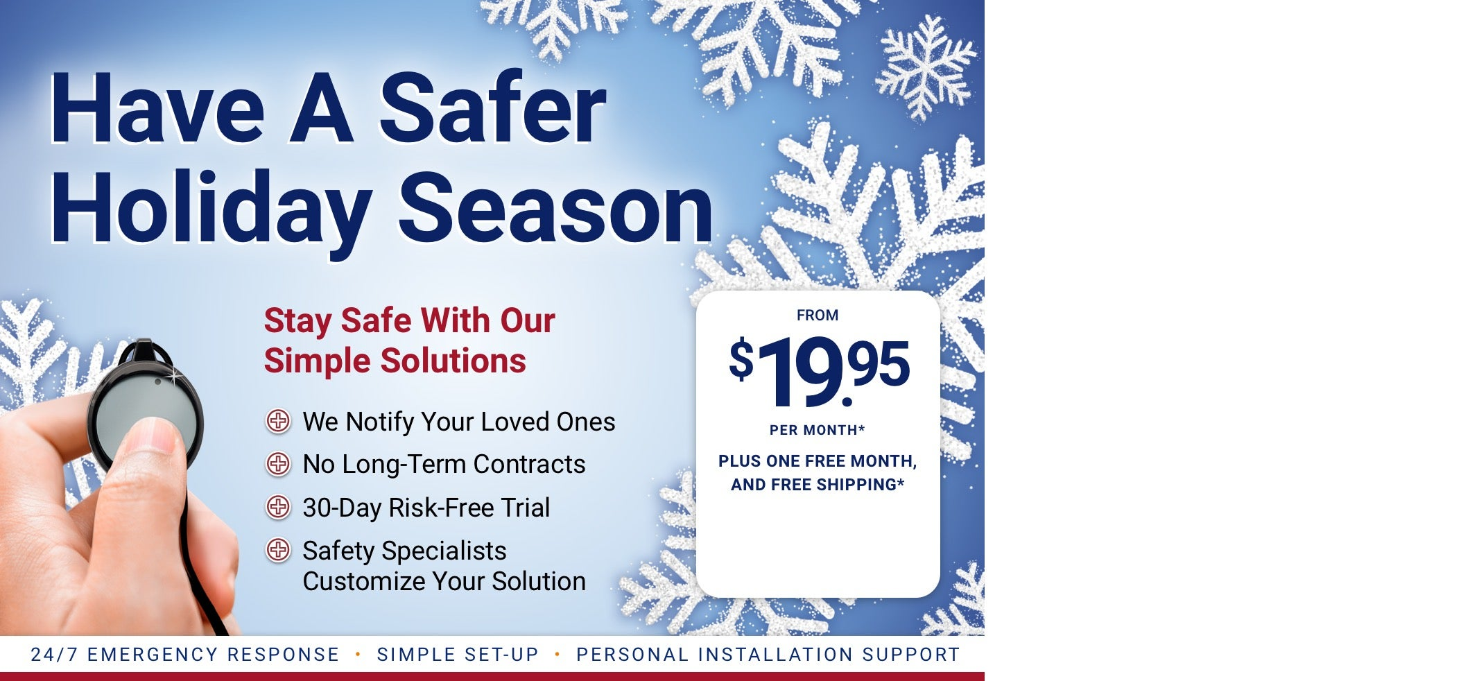 Medical Alert Systems Starting at $19.95