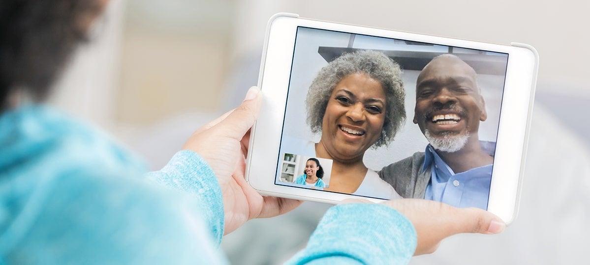 Grandparent Video Chat